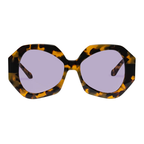 Karen Walker Female Phoenix Tort Octagon Sunglasses