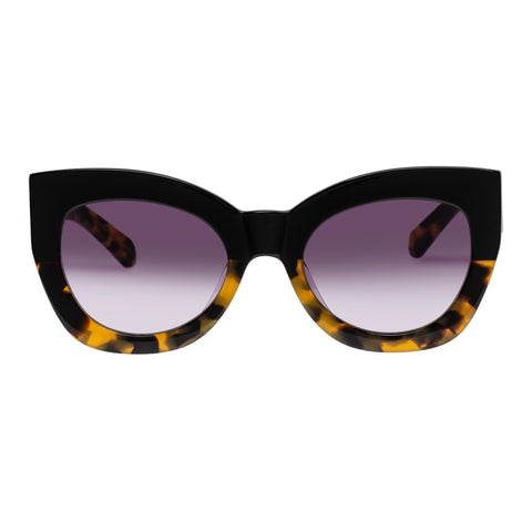Karen Walker Female Northern Lights Black Cat-eye Sunglasses