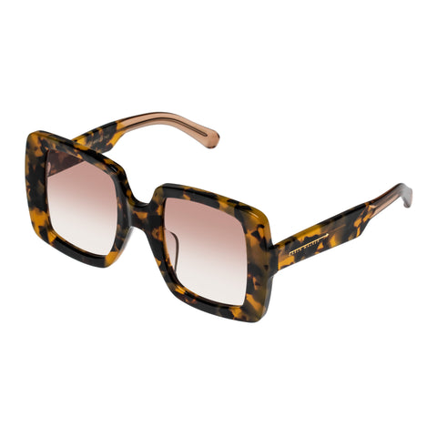 Karen Walker Female Isadore (af) Tort Square Sunglasses