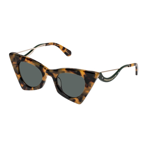 Karen Walker Female Astral Heart Tort Cat-eye Sunglasses
