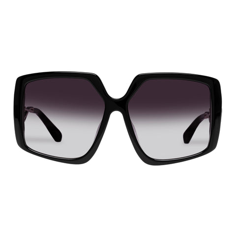 Karen Walker Female Celestial Black Square Sunglasses