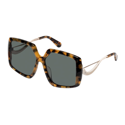 Karen Walker Female Celestial Tort Square Sunglasses
