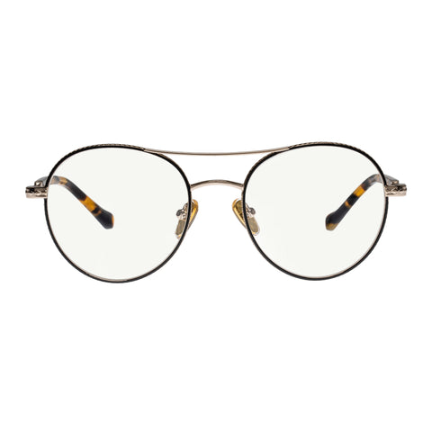 Karen Walker Uni-sex Millo Gold Round Readers