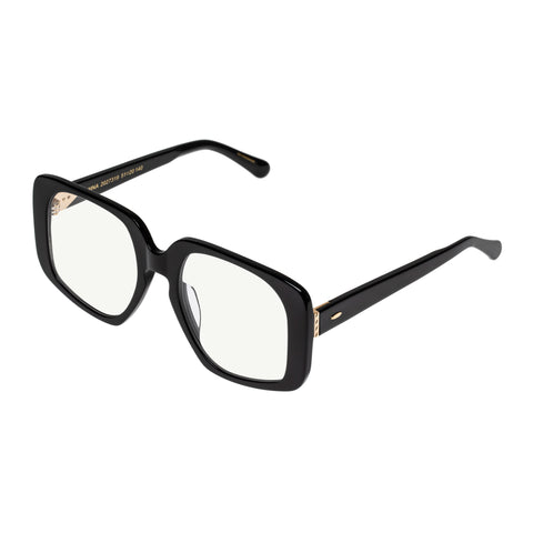 Karen Walker Uni-sex Amna Black Square Readers