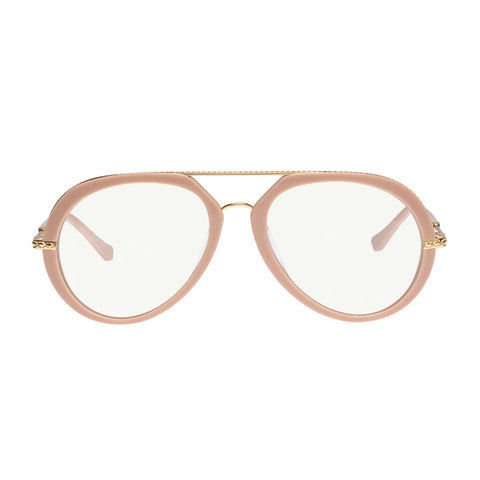 Karen Walker Female Lowri Alt Fit Rose Aviator Readers
