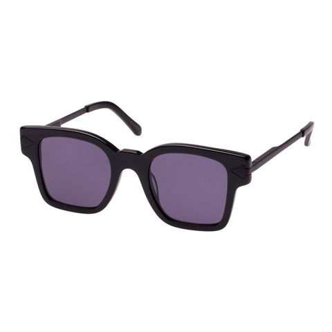 Monumental By Karen Walker Male Julius Black Square Sunglasses