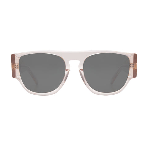 Monumental By Karen Walker Male Buzz Clear Square Sunglasses
