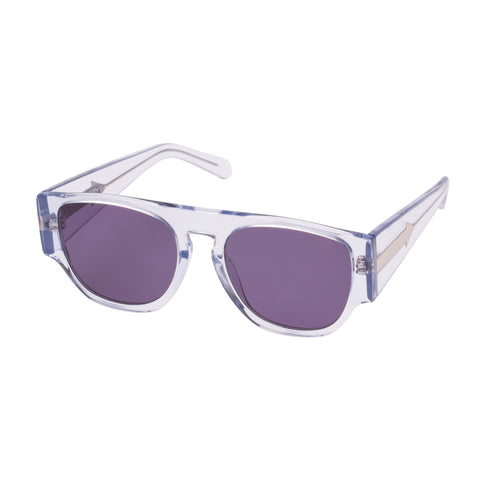 Monumental By Karen Walker Male Buzz Grey Square Sunglasses