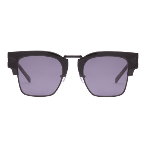 Monumental By Karen Walker Male Connan Black Square Sunglasses
