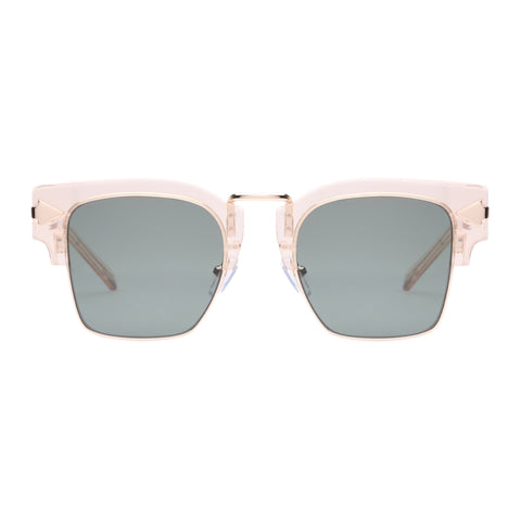 Monumental By Karen Walker Male Connan Clear Square Sunglasses