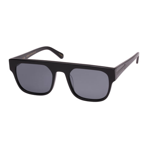Monumental By Karen Walker Male Burroughs Black Modern Rectangle Sunglasses