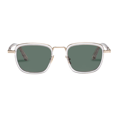 Monumental By Karen Walker Male Penn Clear Square Sunglasses