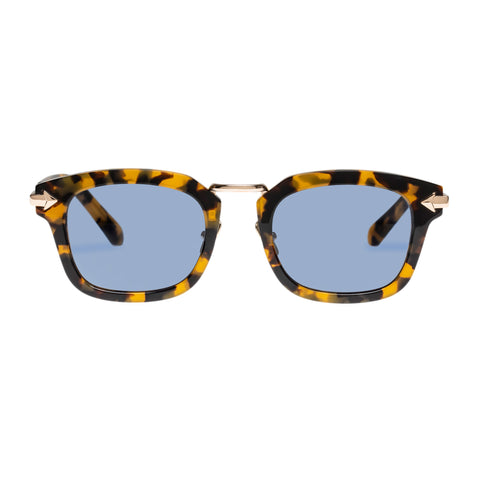 Monumental By Karen Walker Male Attenborough Tort Modern Rectangle Sunglasses