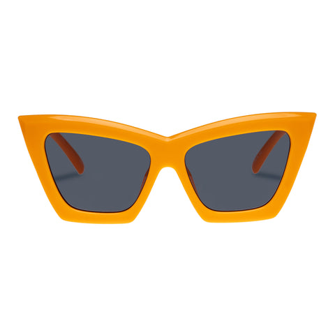 Le Specs Female Hathor Alt Fit Orange Cat-eye Sunglasses