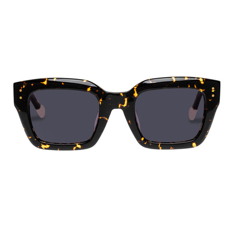 Le Specs Uni-sex Skeptic Alt Fit Tort Square Sunglasses