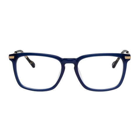 Le Specs Uni-sex Anecdote Alt Fit Navy Rectangle Optical Frames