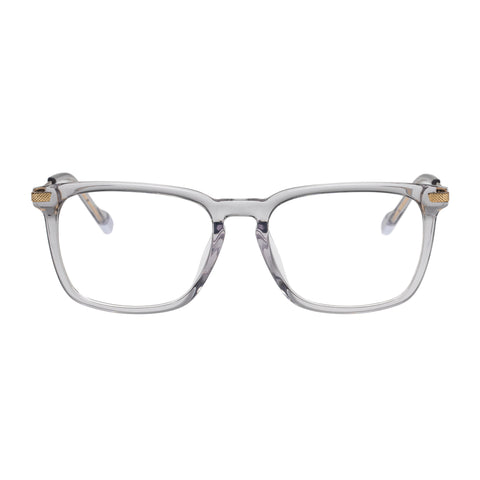 Le Specs Uni-sex Anecdote Alt Fit Clear Rectangle Optical Frames