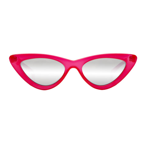 Le Specs Female The Last Lolita Red Cat-eye Sunglasses Front