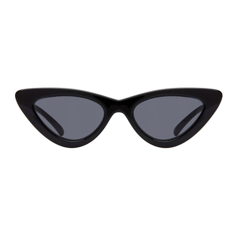 Le Specs Female The Last Lolita Black Cat-eye Sunglasses