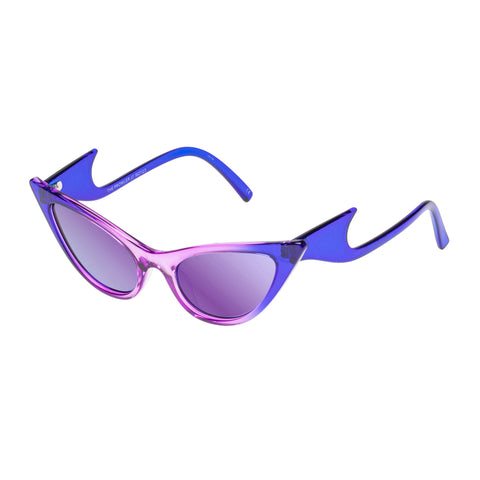 Le Specs Female The Prowler Purple Cat-eye Sunglasses