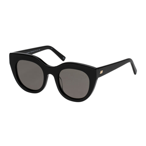 Le Specs Female Airy Canary Black Cat-eye Sunglasses