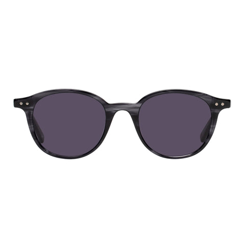 Le Specs Uni-sex Equinox Navy Round Sunglasses