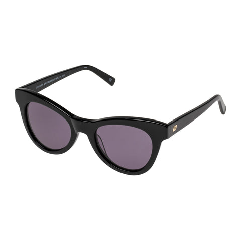 Le Specs Female Dernier Cri Black Cat-eye Sunglasses