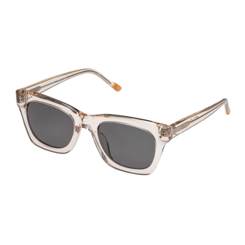 Le Specs Uni-sex Fortitude Tan Modern Rectangle Sunglasses