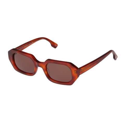 Le Specs Female Dolce Tort Octagon Sunglasses