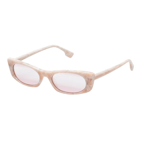 Le Specs Female Deep Shade Pink Cat-eye Sunglasses