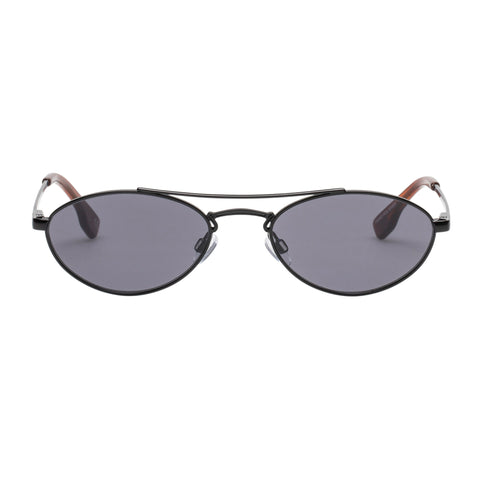 Le Specs Uni-sex Elliptical Liaison Black Aviator Sunglasses