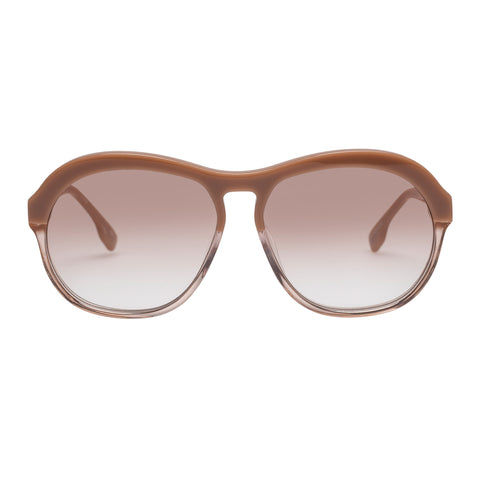 Le Specs Female Burnout Rose Aviator Sunglasses