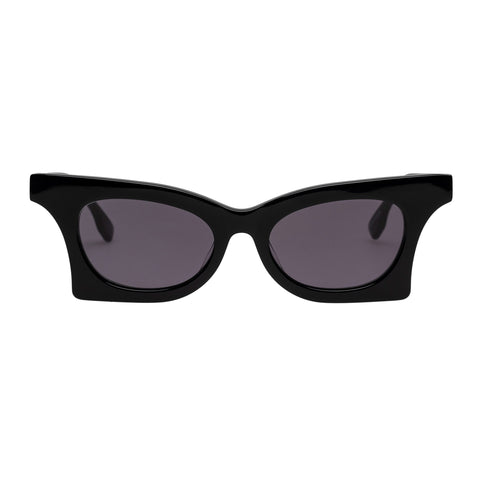 Le Specs Female Nitro Black Cat-eye Sunglasses