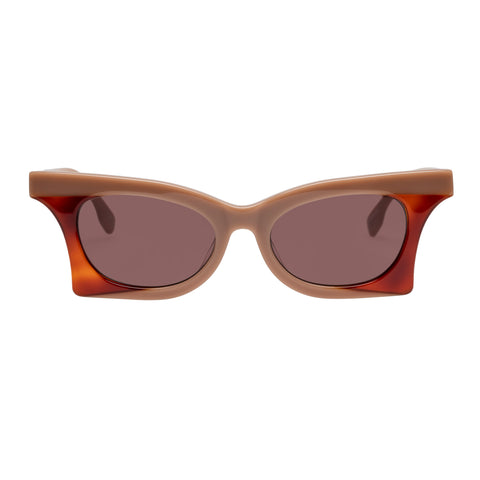 Le Specs Female Nitro Rose Cat-eye Sunglasses