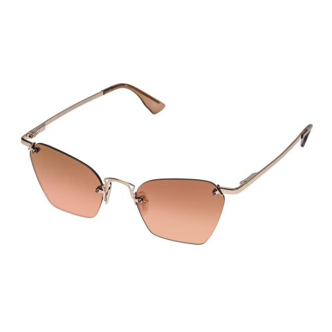 Le Specs Female Pit Stop Rose Cat-eye Sunglasses