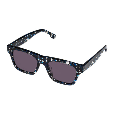 Le Specs Uni-sex Motif Multi Modern Rectangle Sunglasses