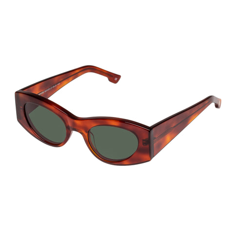 Le Specs Female Extempore Tort Cat-eye Sunglasses