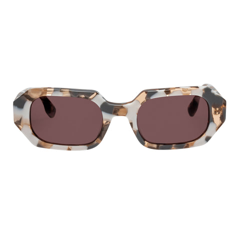 Le Specs Female Dolce Multi Octagon Sunglasses