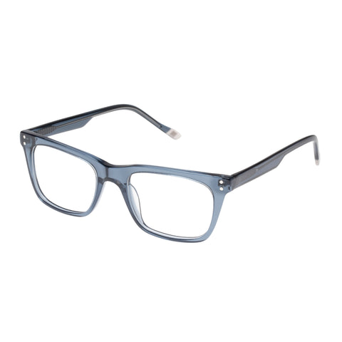 Le Specs Male The Mannerist Grey Modern Rectangle Optical Frames