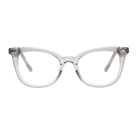 Le Specs Female Illusion Clear Modern Rectangle Optical Frames