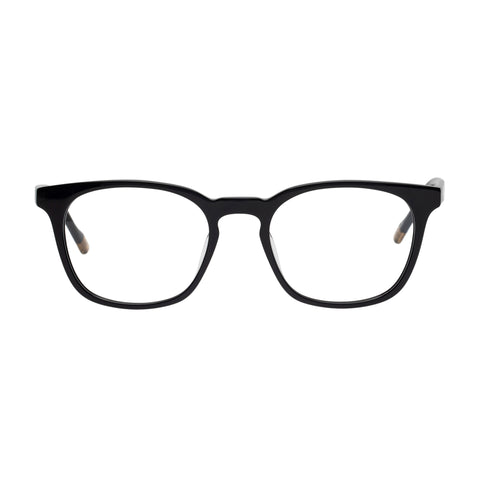 Le Specs Male Trespasser Black Modern Rectangle Optical Frames