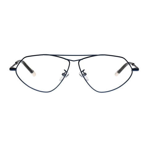 Le Specs Uni-sex Psyche Navy Aviator Optical Frames