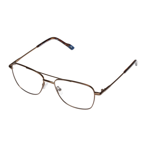 Le Specs Male Wilderness Bronze Aviator Optical Frames
