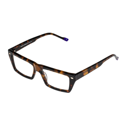 Le Specs Male Horizon Tort Modern Rectangle Optical Frames