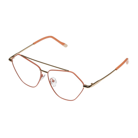 Le Specs Uni-sex Dweller (opt) Pink Aviator Optical Frames