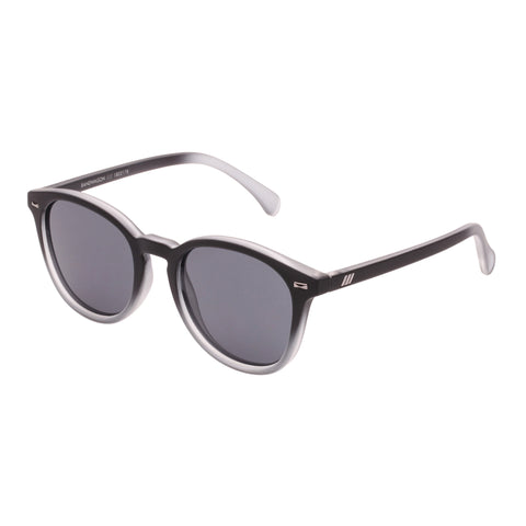 Le Specs Uni-sex Bandwagon Black Round Sunglasses