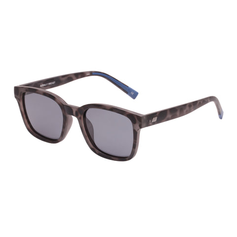 Le Specs Male Alpha Tort Modern Rectangle Sunglasses