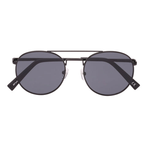 Le Specs Uni-sex Revolution X Bloomies Black Aviator Sunglasses