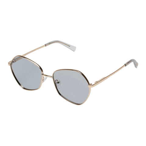 Le Specs Female Escadrille Gold Butterfly Sunglasses