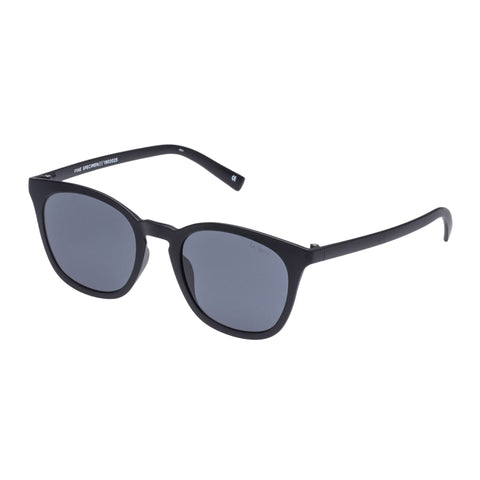 Le Specs Male Fine Specimen Black Modern Rectangle Sunglasses